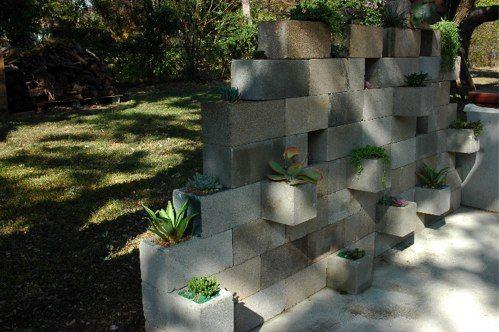 Cinderblock Succulent Planter Cinder Block Garden Succulent Planter Cinder Block Garden Wall