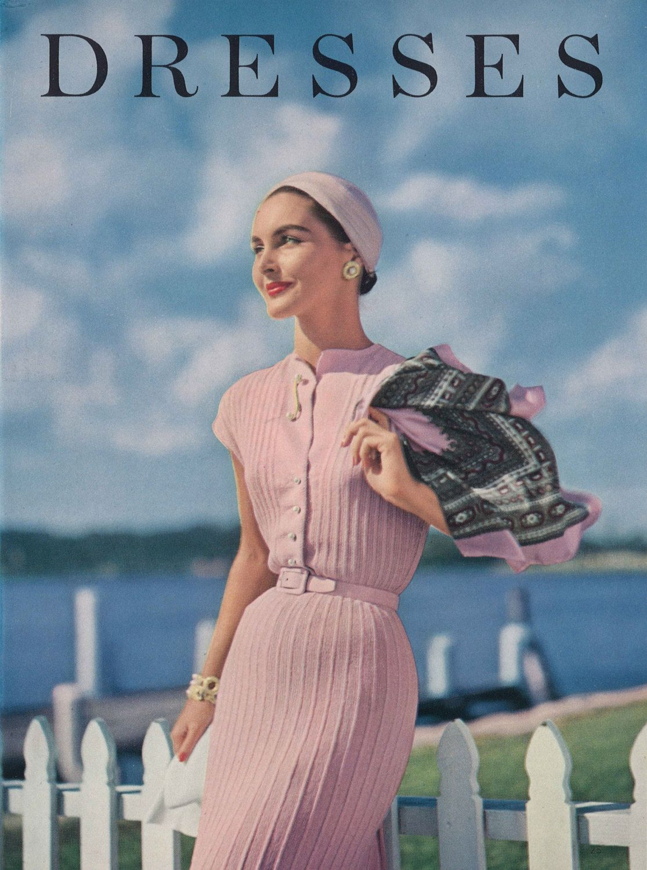 Pink lady 1950s knitting dress shirtdress 50s vintage pink lady 1950s knitting dress shirtdress 50s vintage engagement vogue pattern retro womens knit digital pdf bankloansurffo Choice Image