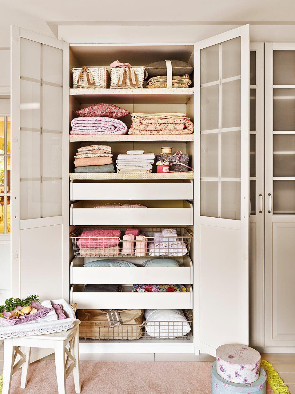 Como hacer la limpieza del armario de ropa blanca s banas - Armario ropa blanca ...