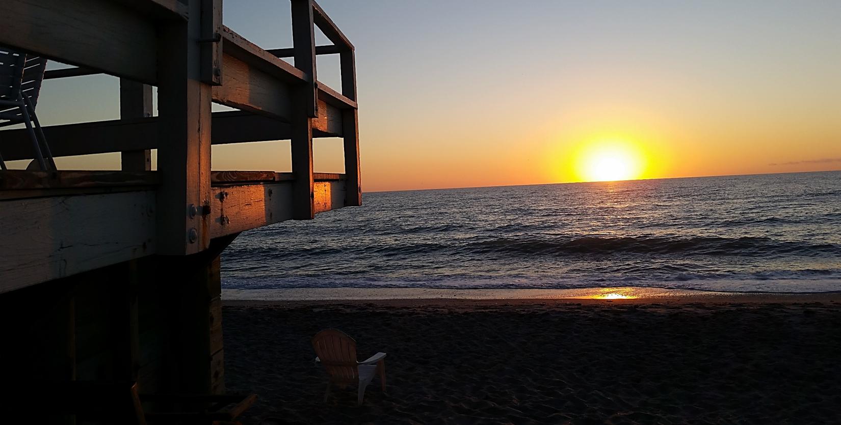 Sunset at The Pearl Beach Inn! | Pearl beach, Florida ...