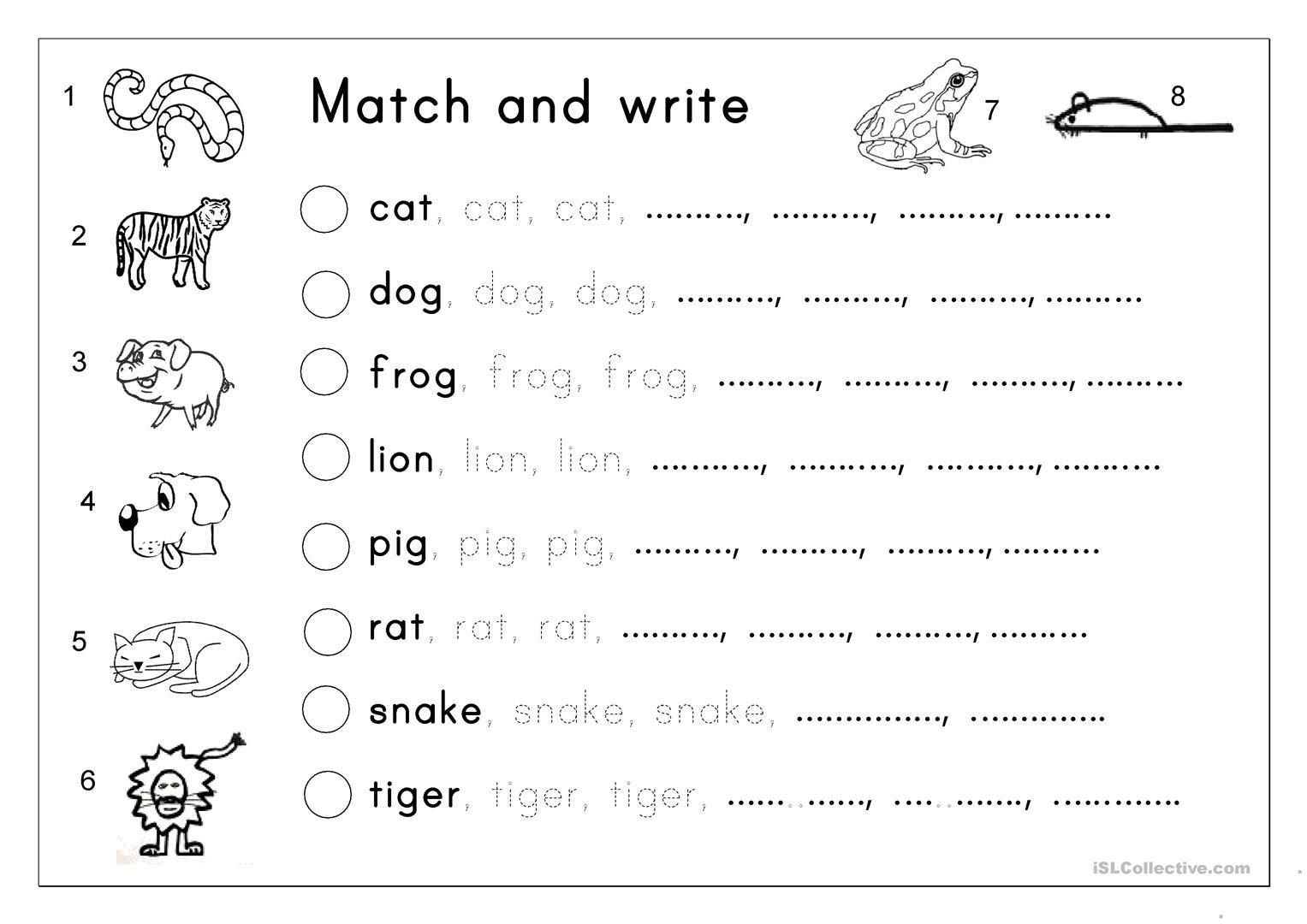 48+ Writing worksheets for preschoolers Top