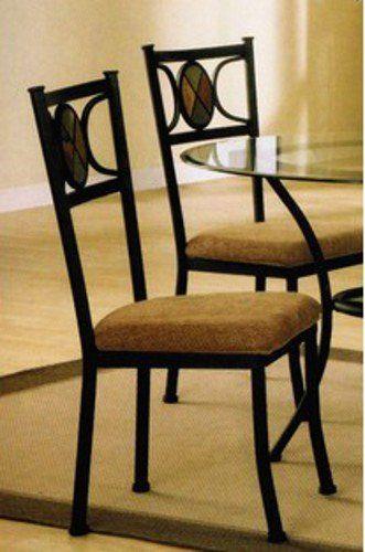 Set Of 4 Dining Chairs With Slate Inlaid Poundexhttpwwwamazon