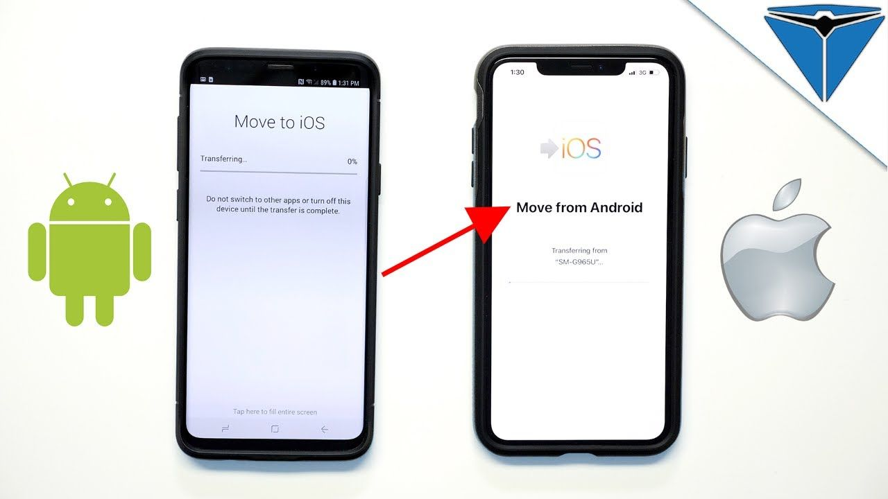 How To Switch From Android To Iphone With Images Iphone Android Switch