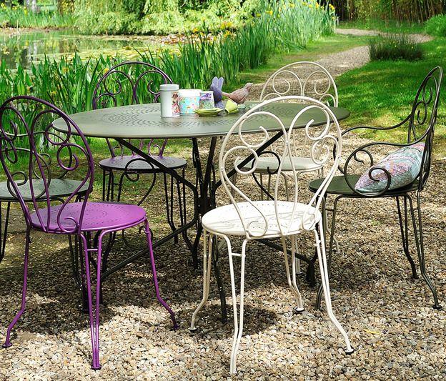 Meubles de jardin montmartre fermob photo v ronique v drenne meubles patio jardins - Mobilier de jardin fermob ...