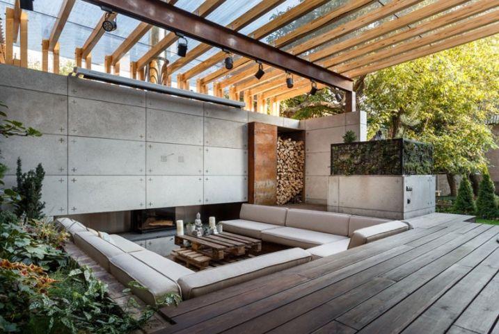 Transformer un patio en salon d\'extérieur | Salon d ...