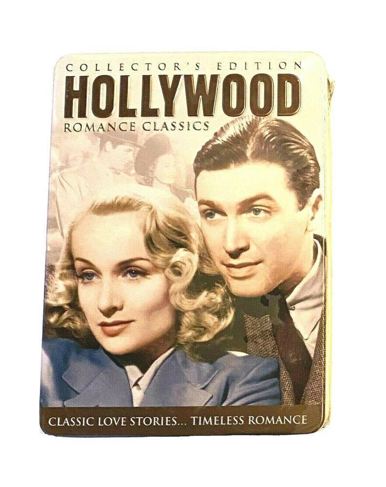 Vintage Hollywood Romance Classic Movie Dvd New Sealed Set Five Discs Tin Deal Madacyentertainment In 2020 Love Story Dvd Set Romance