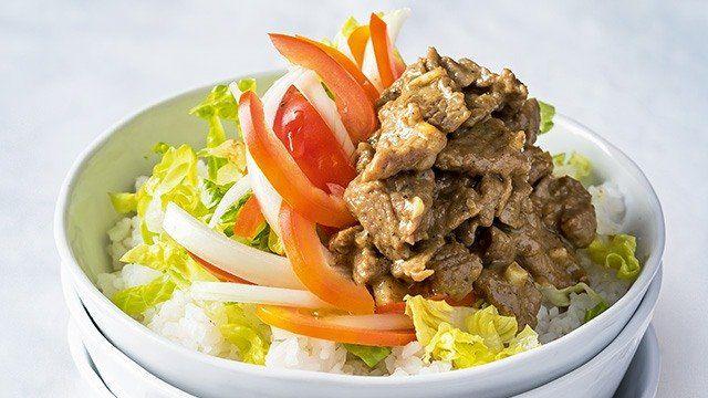 Beef Shawarma Rice Recipe   Shawarma rice recipe, Beef ...