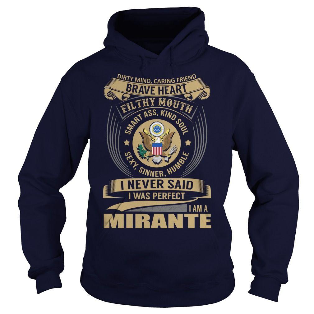 [Best t shirt names] MIRANTE Last Name Surname Tshirt Tshirt-Online Hoodies, Funny Tee Shirts