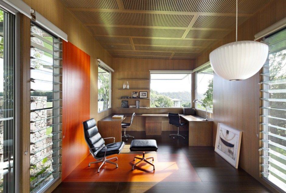 architect home office. Home Office Design At Stunning Maleny House On Australia\u0027s Sunshine Coast By Bark Architects Architect S