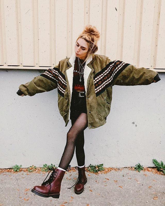 Sarah #grungeoutfits