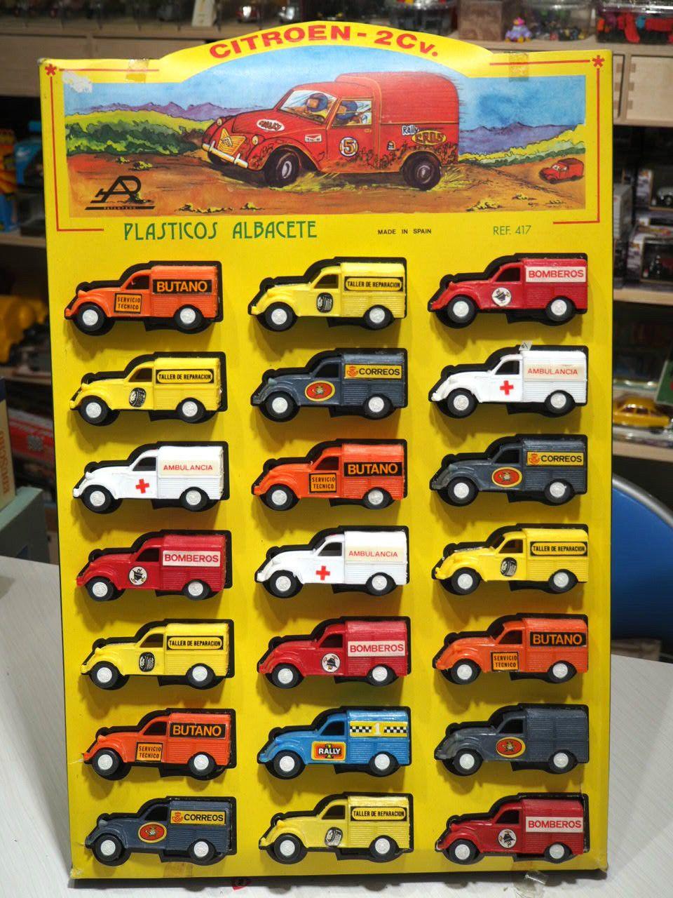 BazarPlage Plastiques 2cv Citroën Plastico AlbaceteJouets De 8wn0OPk