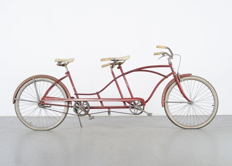 Vintage Huffy Daisy Tandem Bicycle Bicycle Tandem Bike Tandem