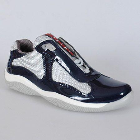 Navy Blue Prada Sneakers   Sneakers
