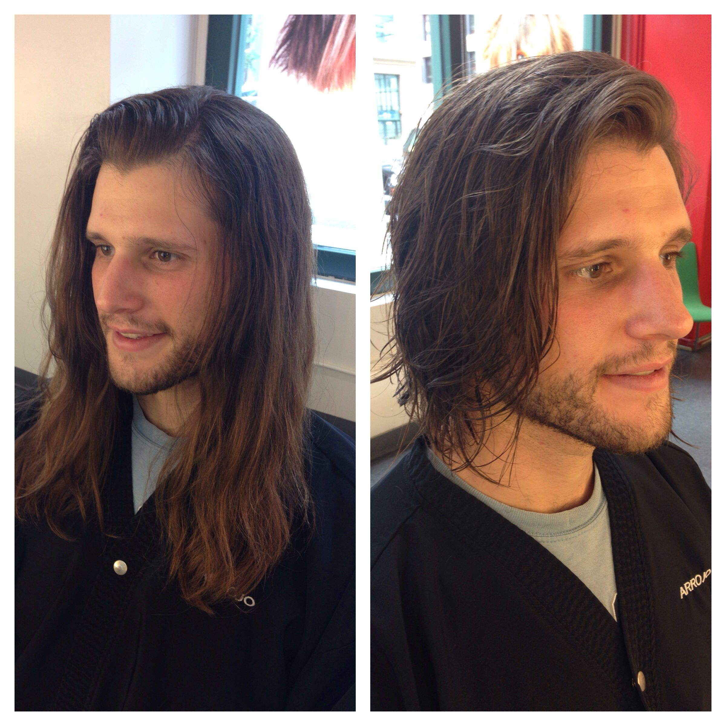 Pin By Garry Nelson On Hair I Ve Done Mens Hairstyles Short Long To Short Hair Long Hair Styles Men