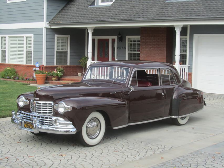 1948 Lincoln Continental 2 Door Club Coupe Lincoln Continental Lincoln Cars Lincoln Motor Company