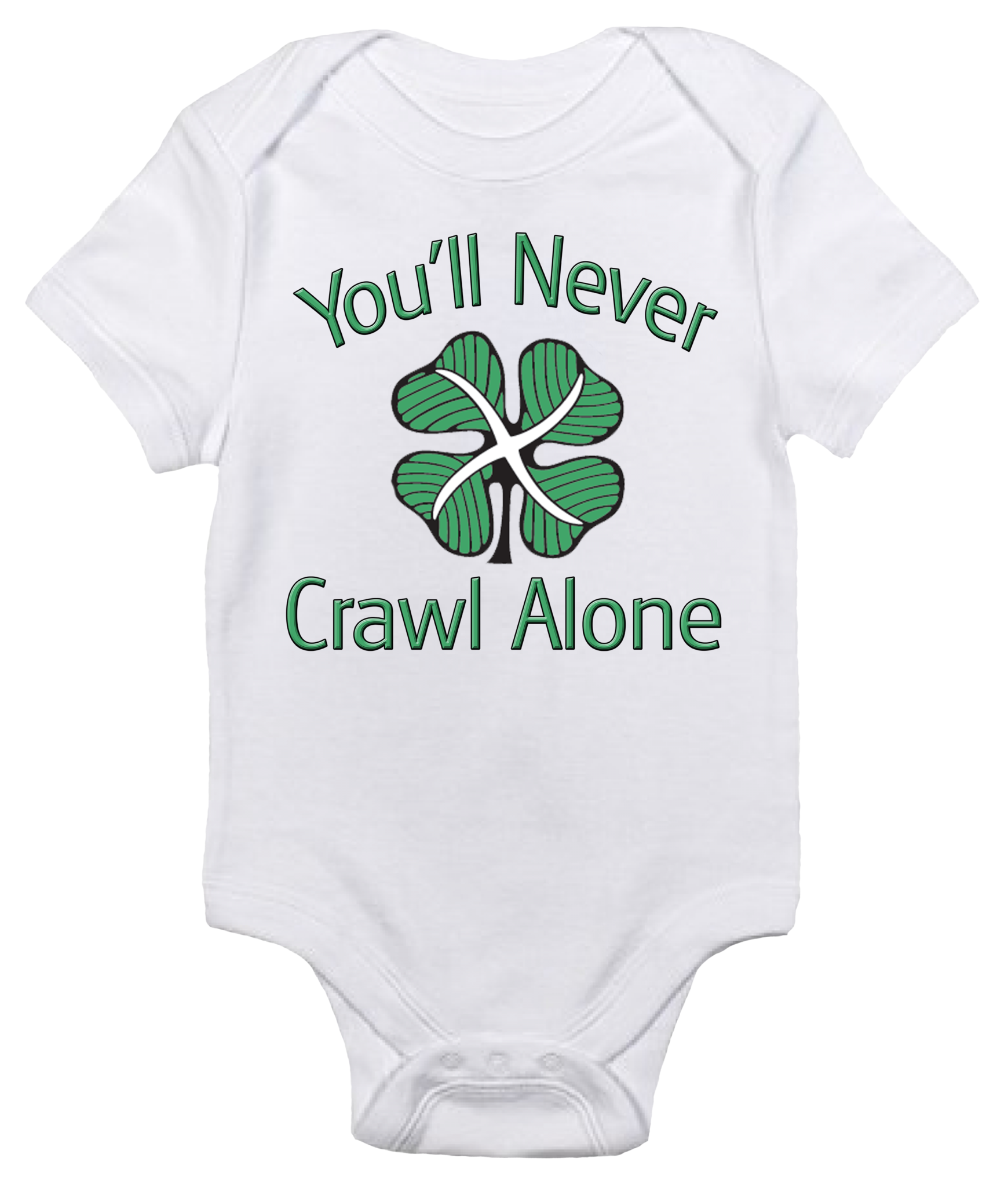 5098aa530d31 Baby Bodysuit - Celtic FC - You'll Never Crawl Alone | Twinkle ...