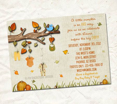 Baby shower autumn theme diy fall themed baby shower invites for baby shower autumn theme diy fall themed baby shower invites for your autumn celebration have to print yourself filmwisefo