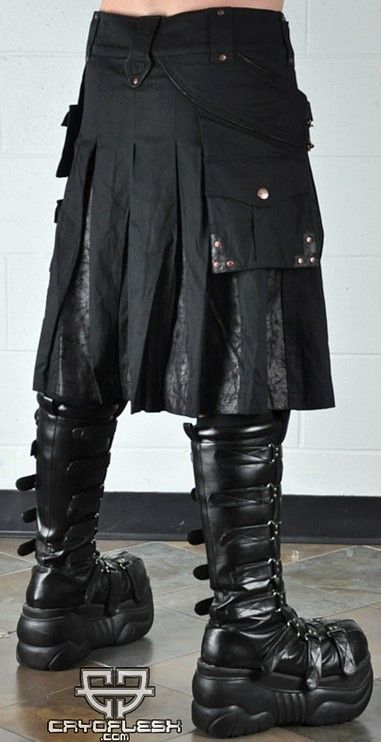 Steampunk Kilt is fantastic... but the boots are ridiculous!
