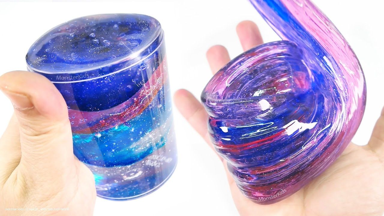 Diy Clear Galaxy Slime 2 Make E