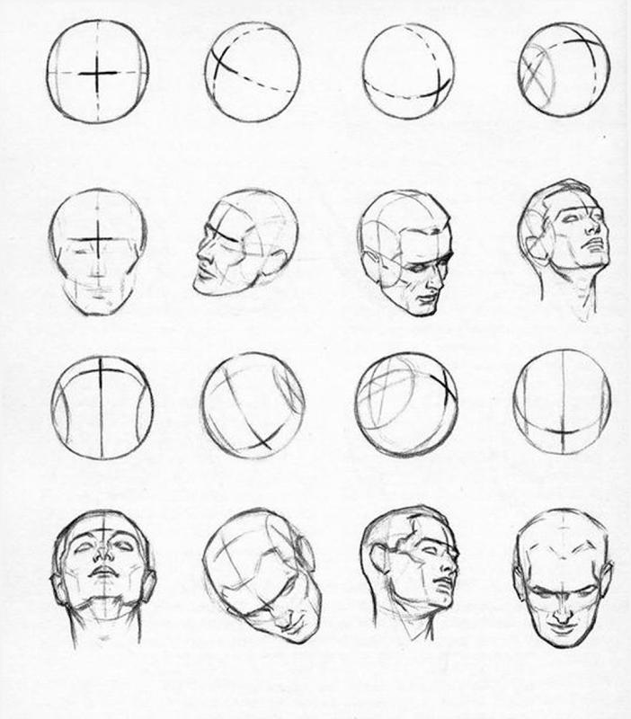 узбекистана картинки как нарисовать голову человека поэтапно обычной