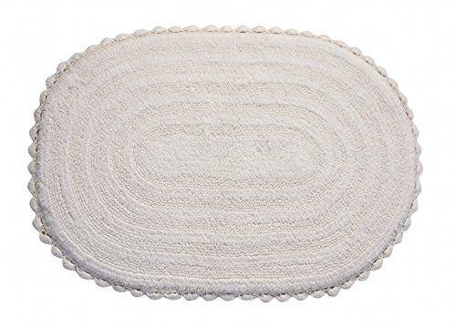 Contour Bath Rug White