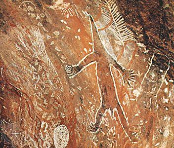 Australian Aboriginal Art Rock Painting Australian Aboriginal Art