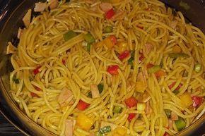 Sommerlicher Spaghettisalat von FallenAngel666 | Chefkoch