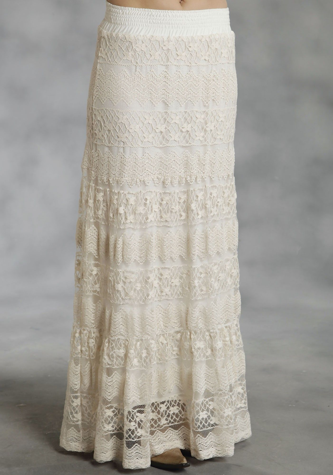 3 tiered allover lace s western skirt horses westerns clothes and