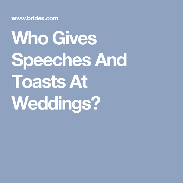 Who Gives A Speech At The Wedding Reception Wedding Reception Maid Of Honor Wedding