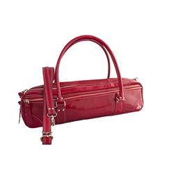 98eec1e2bfe The red patent leather Fluterscooter bag comes with the additional shoulder  strap shown here. A great style for this holiday season!