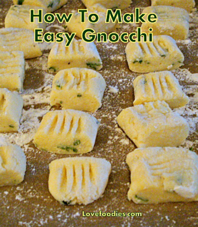 how to make potato pasta