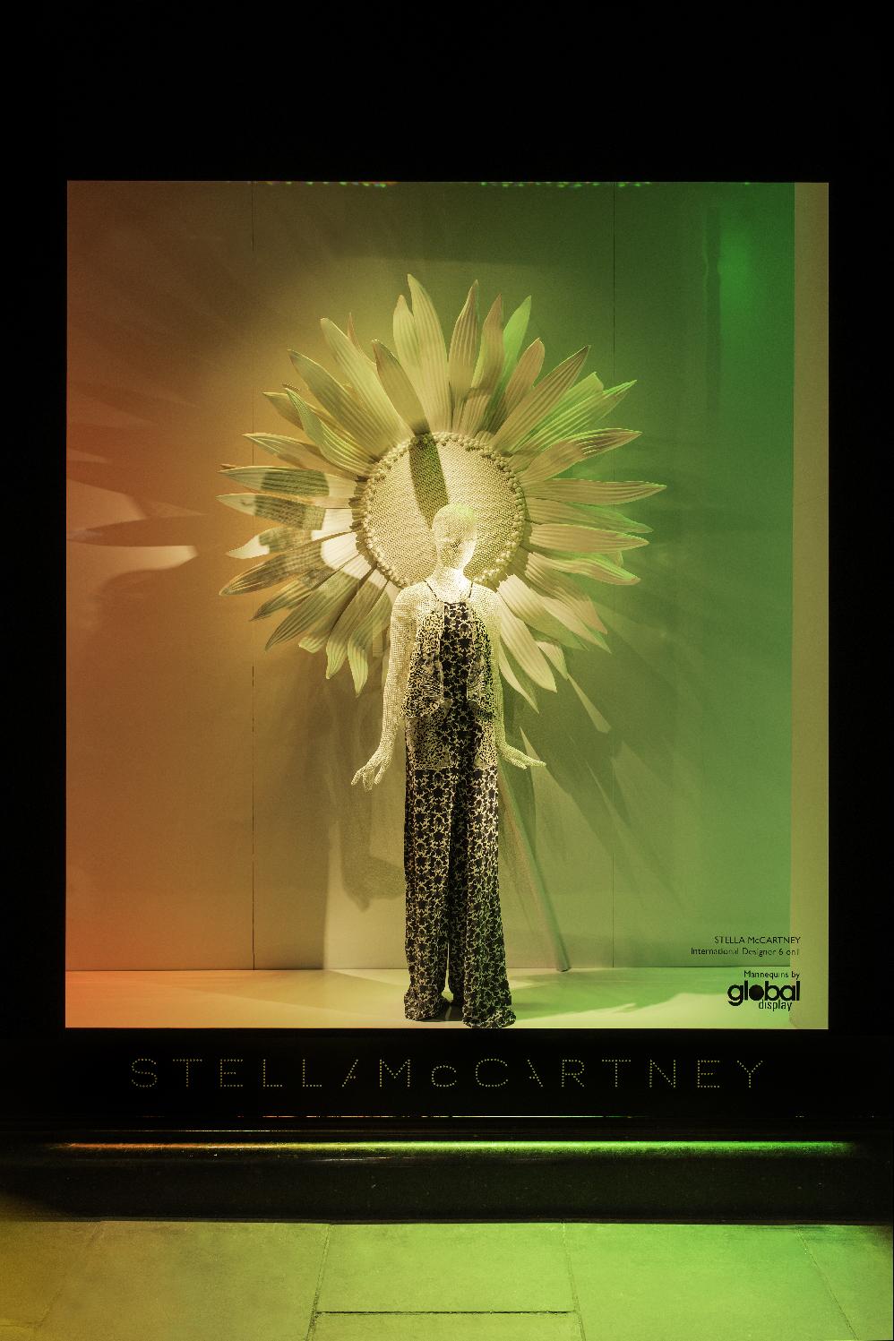 "HARRODS, London, UK, presents Stella McCartney showcasing the ""Appliqué Embroidered Jumpsuit"", pinned by Ton van der Veer"