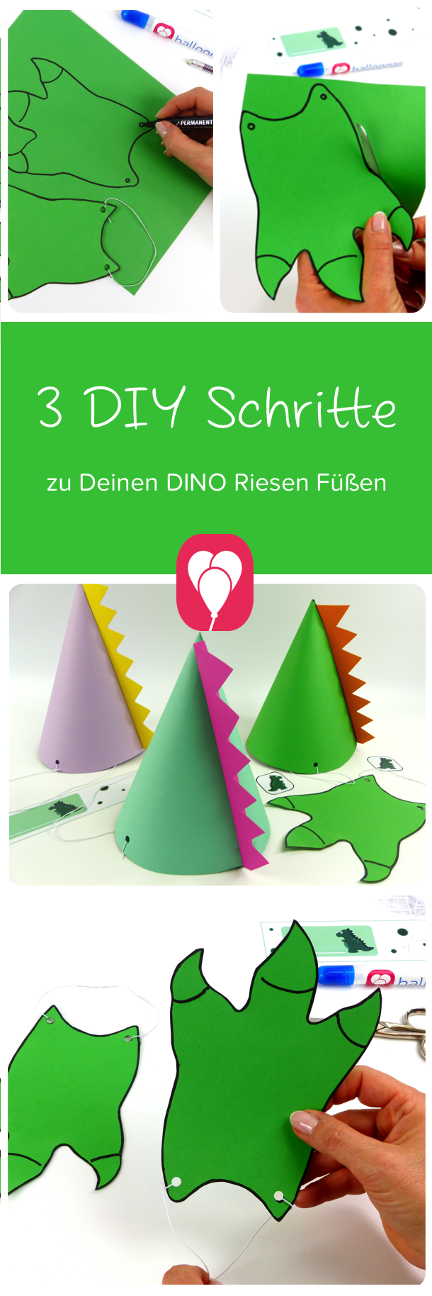 Roarrr! Dino Party Spiele für deinen Dino Party Balloons Blog