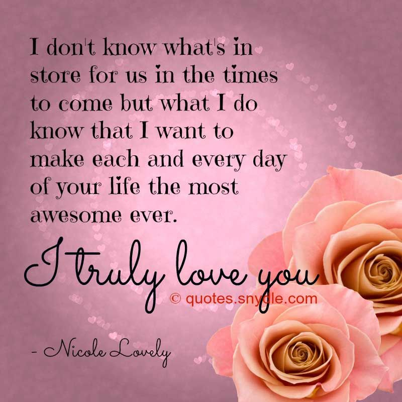 Love Quotations And Sayings