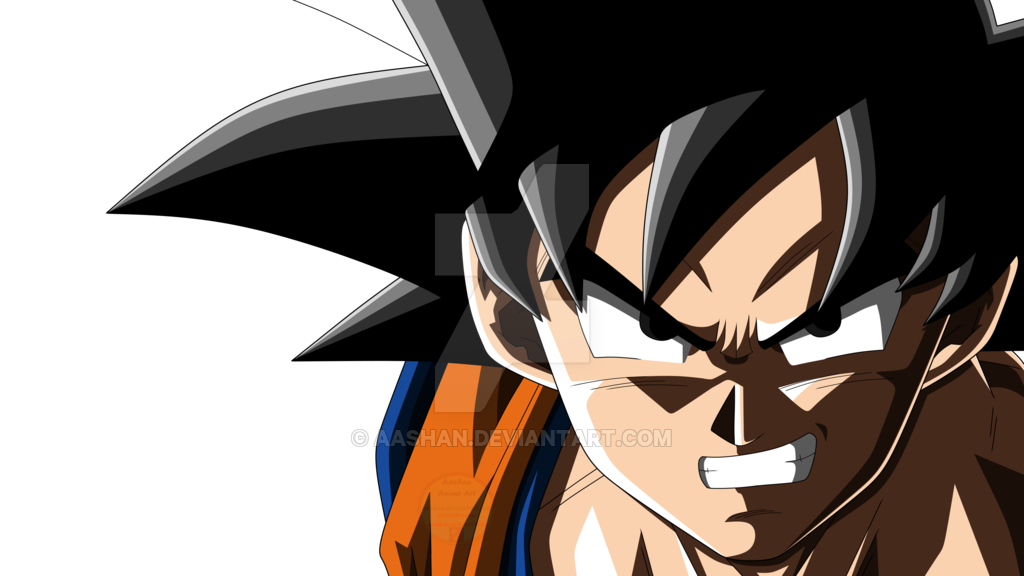 Image Result For Goku Angry Face Goku Face Anime Angry Face