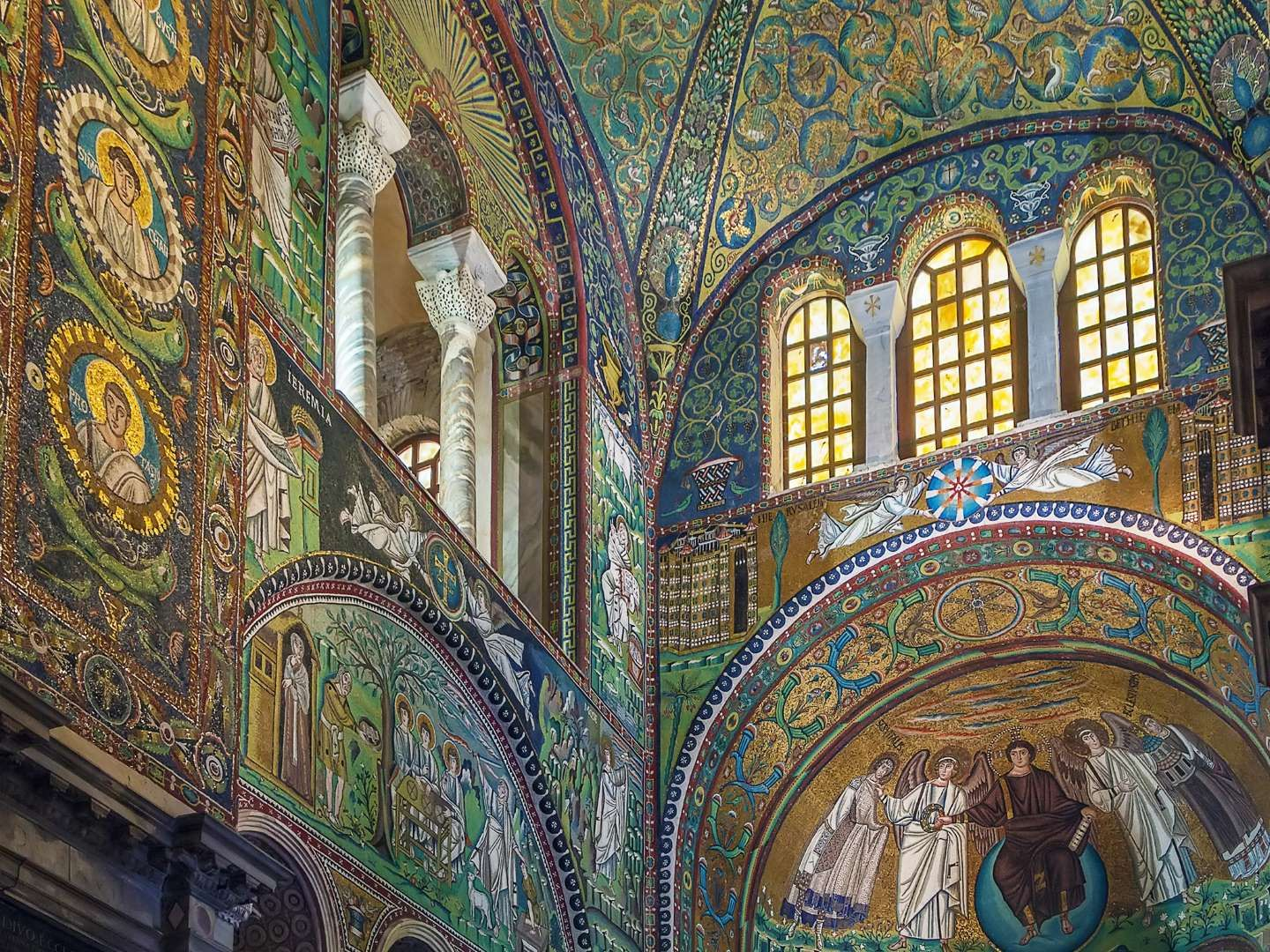 Basilica of San Vitale, Ravenna, Italy | Places in europe ...