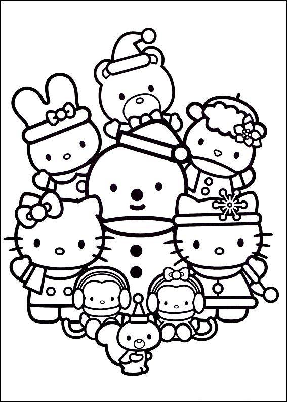 Hello Kitty | NAVIDAD | Pinterest