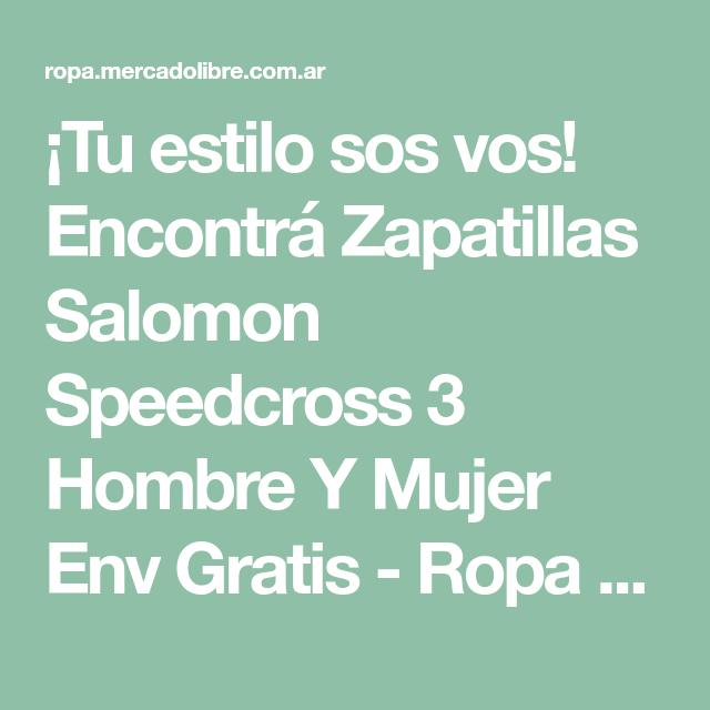 zapatillas salomon online libre argentina
