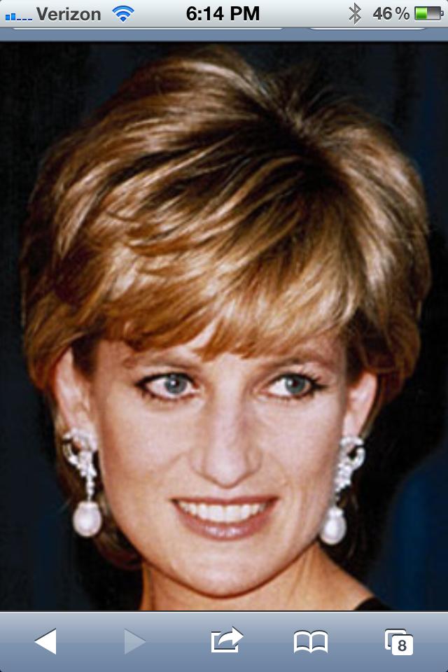 Princess Di Haircuts Pinterest Princess Diana And Princess Diana
