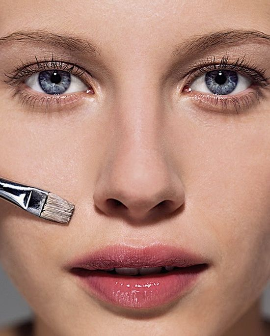 How to cover absolutely everything ... from blemishes, to red spots and cold sores, to dark circles.