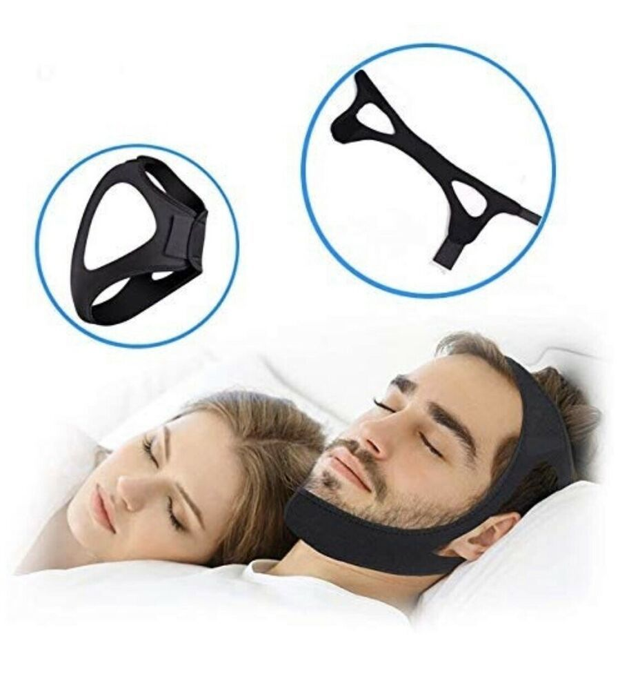 Anti snoring chin strap adventurist ebay snoring