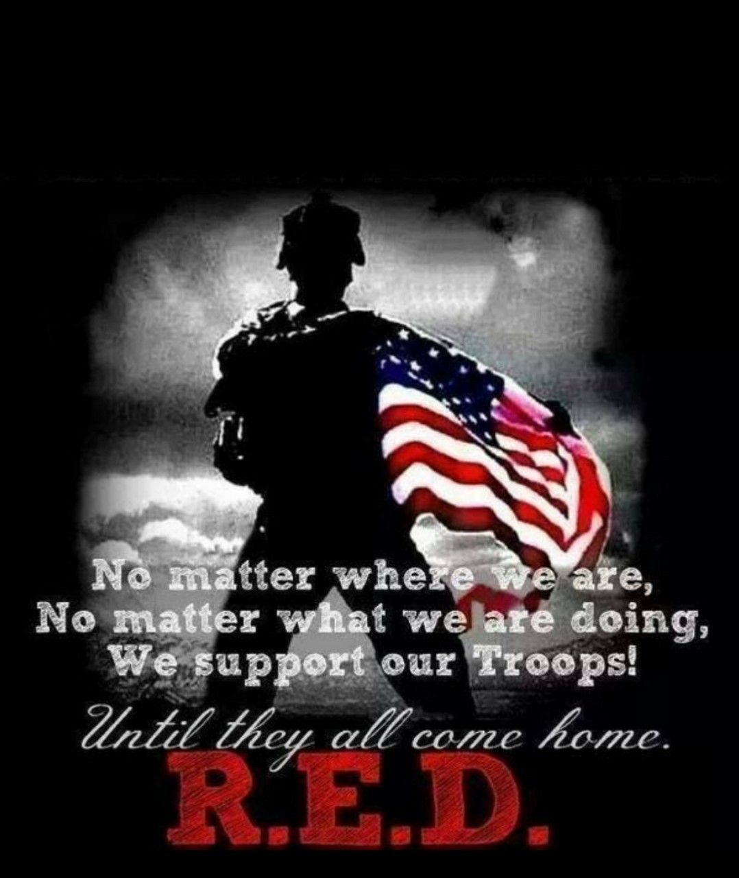 Pin by Smileawhile on RED Military quotes, Remember