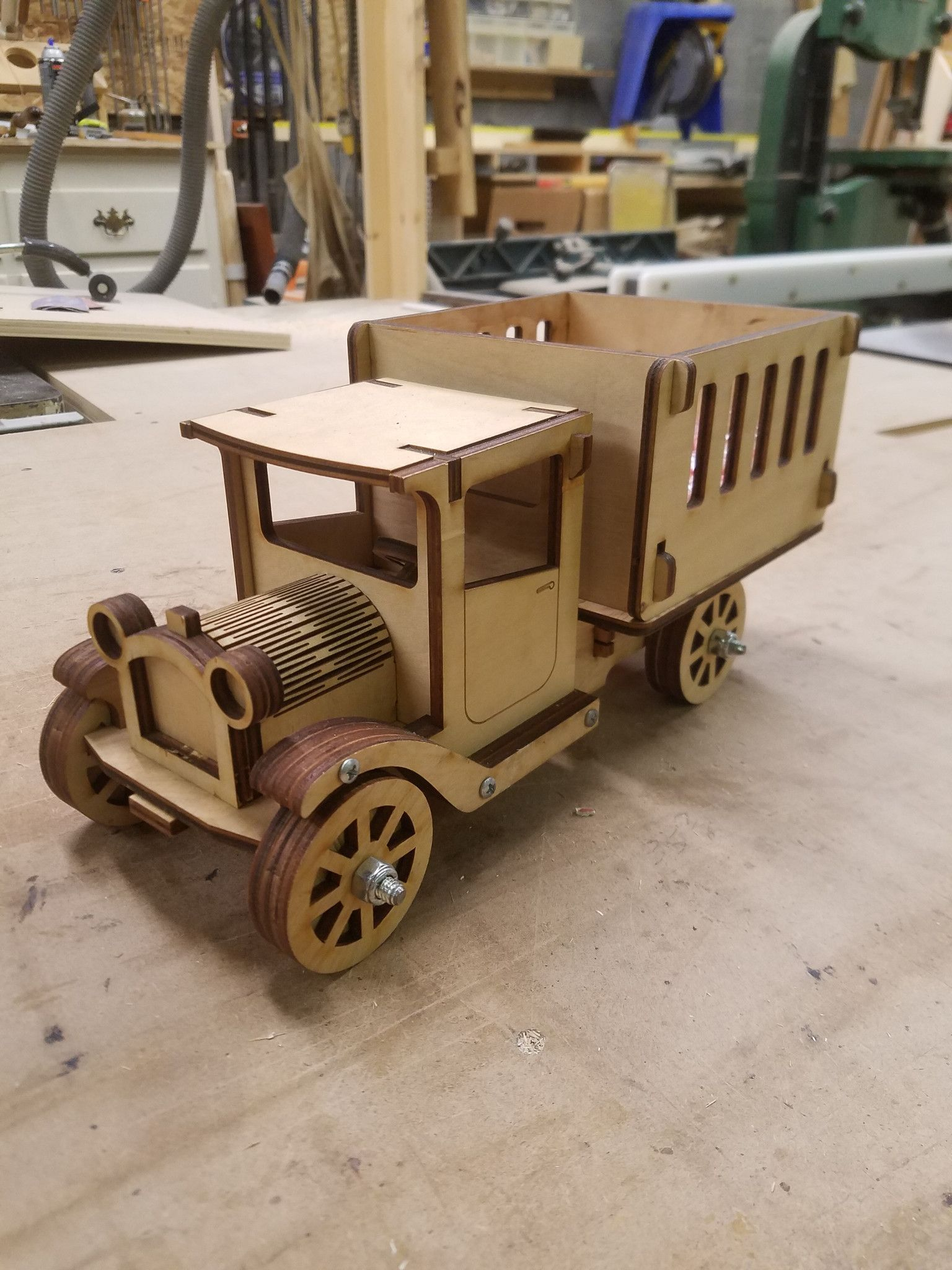 Model C Truck Learn woodworking, Woodworking, Wooden car