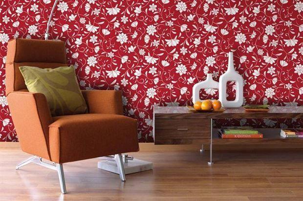 Los empapelados se renuevan para decorar la casa - Living - ESPACIO LIVING