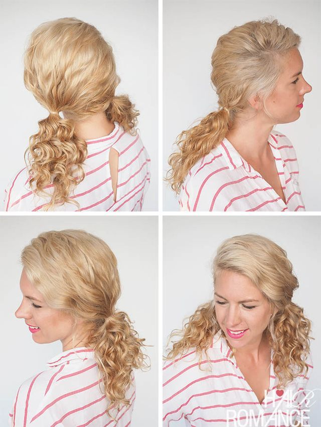 30 Curly Hairstyles In 30 Days Day 14 Hair Romance Hairmazing