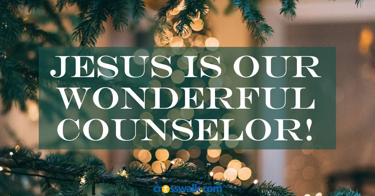 Christmas Devotional 2020 Crosswalk God Is Our Wonderful Counselor   Crosswalk Couples Devotional