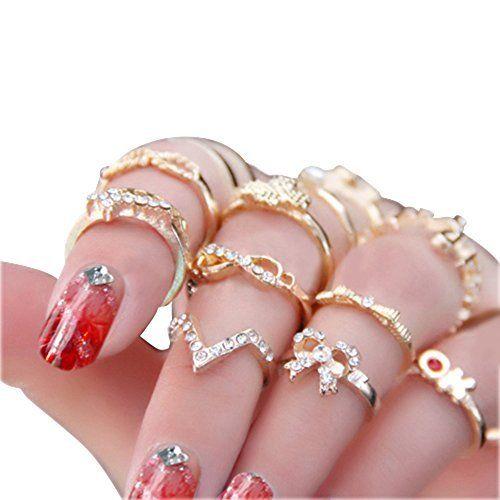 Women's Rhinestone Bowknot Knuckle Midi Mid Finger Tip Stacking Rings, http://www.amazon.com/dp/B00TJJDJ06/ref=cm_sw_r_pi_awdm_HlY1vb0FJENF1