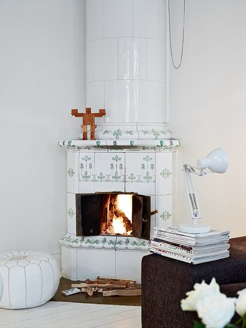 Old style fireplace, I'm in love