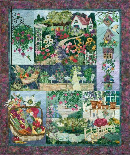In Full Bloom McKenna Ryan - 8 Pattern Set ~ Quilt Sewing Pattern ,Fast Shipping PT418
