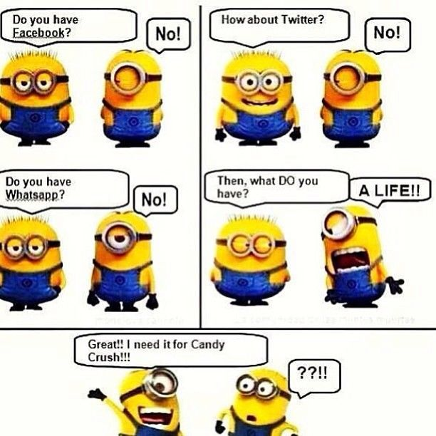 Lol minions!! #minions #despicableme #bejealous #sofunny #candycrush